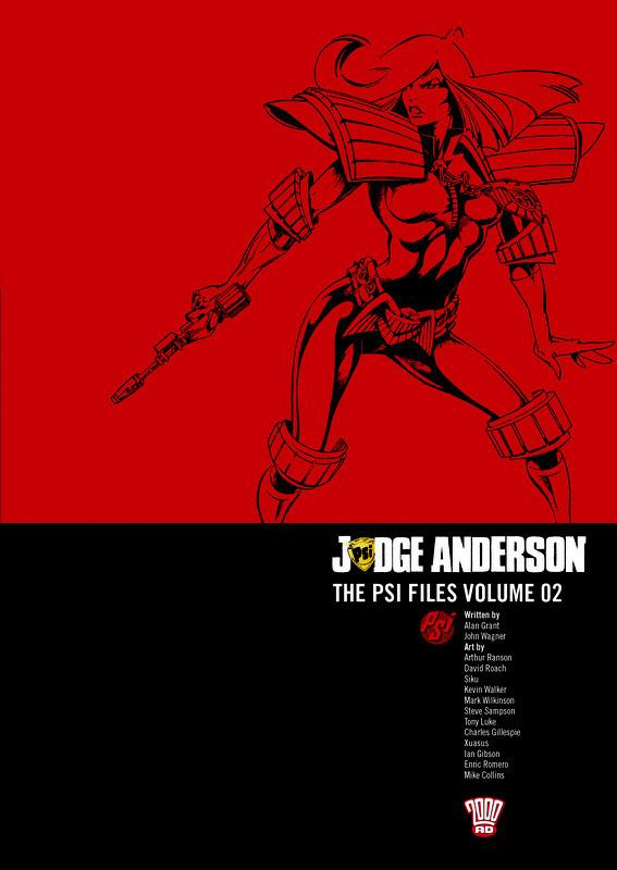 Couverture de Judge Anderson: The Psi Files (2000AD - 2010) -INT02- Volume 02