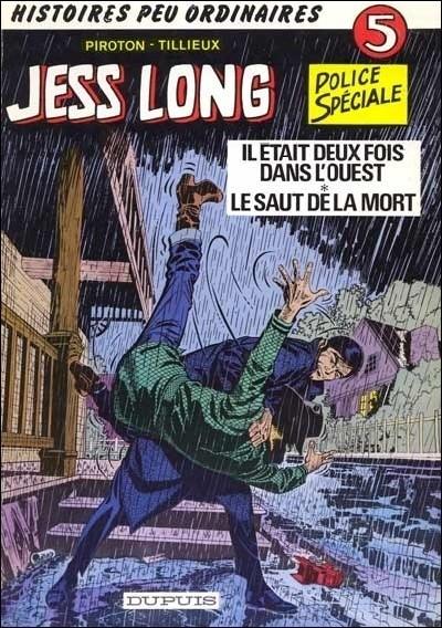 Couverture de Jess Long -5- Il était deux fois dans l'Ouest - Le saut de la mort