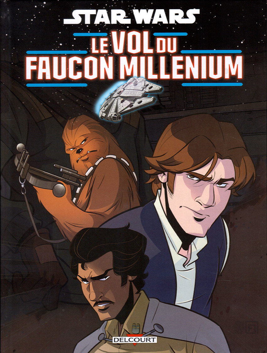 Couverture de Star Wars - Le Vol du Faucon Millenium  - Le vol du faucon millenium
