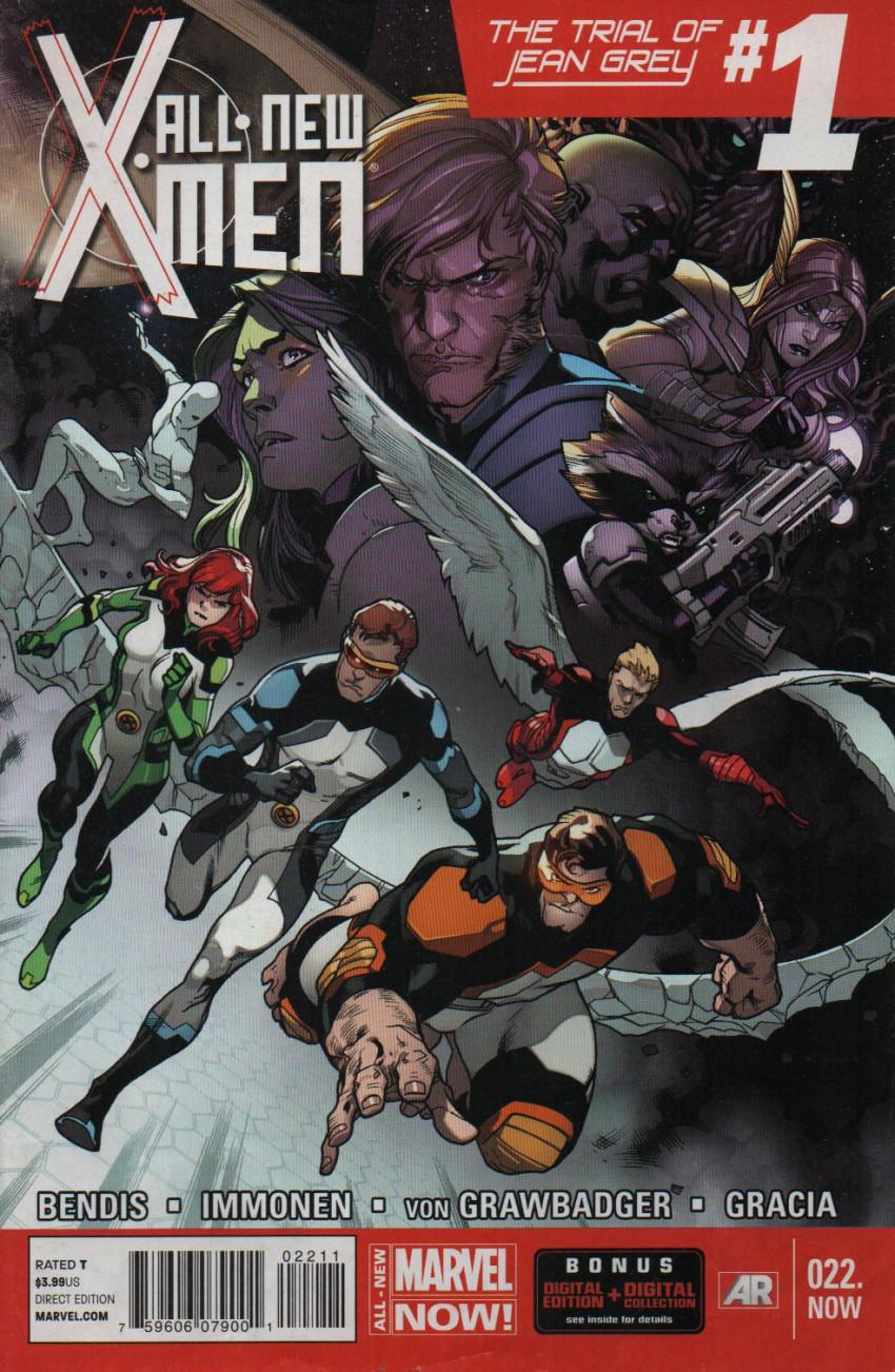 Couverture de All-New X-Men (Marvel comics - 2012) -22- The Trial Of Jean Grey: Part 1 of 6