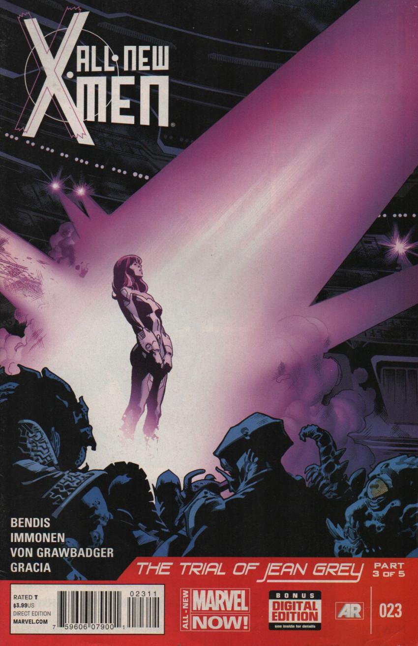 Couverture de All-New X-Men (Marvel comics - 2012) -23- The Trial Of Jean Grey: Part 3 Of 6