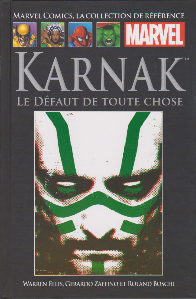 Couverture de Marvel Comics - La collection (Hachette) -154116- Karnak : le défaut de toute chose
