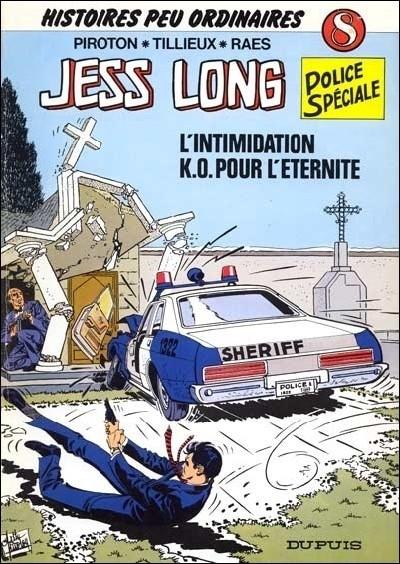 Couverture de Jess Long -8- L'intimidation - K.O. pour l'éternité