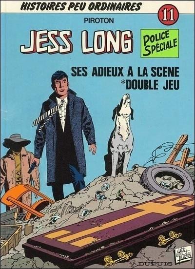 Couverture de Jess Long -11- Ses adieux à la scène - Double jeu