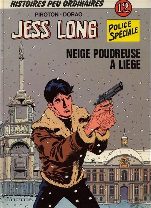 Couverture de Jess Long -12- Neige poudreuse à Liège