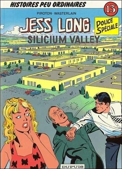 Couverture de Jess Long -13- Silicium Valley