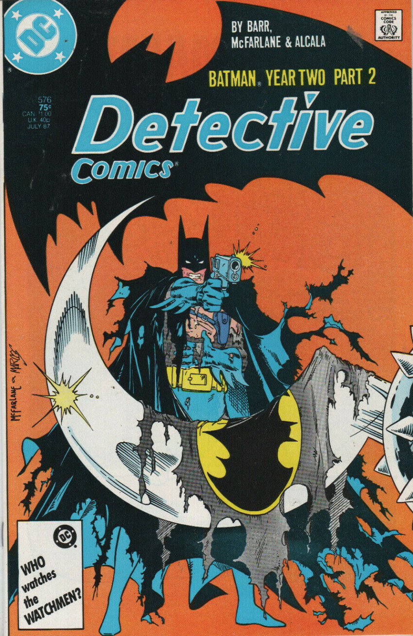 Couverture de Detective Comics (1937) -576- Batman Year Two Part 2