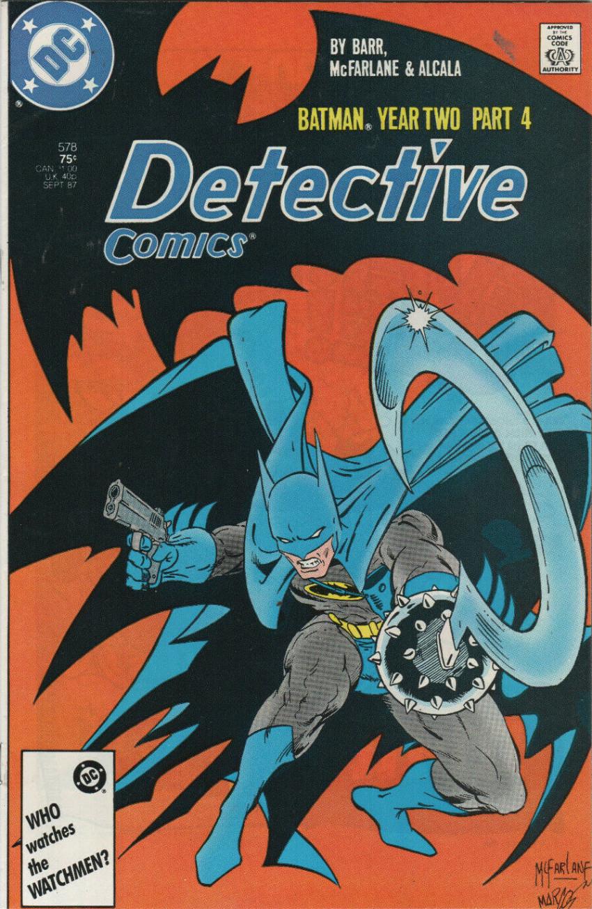 Couverture de Detective Comics (1937) -578- Batman Year Two Part 4