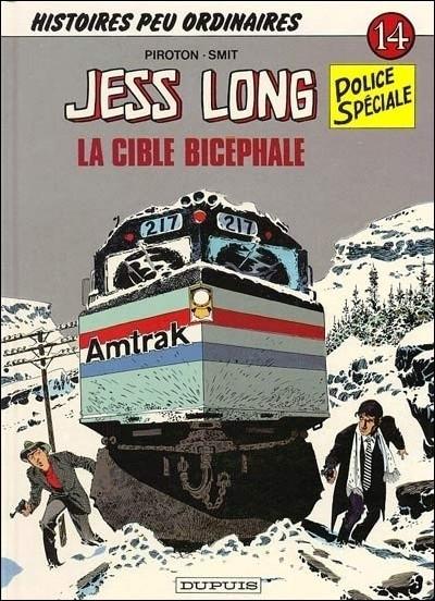 Couverture de Jess Long -14- La cible bicéphale