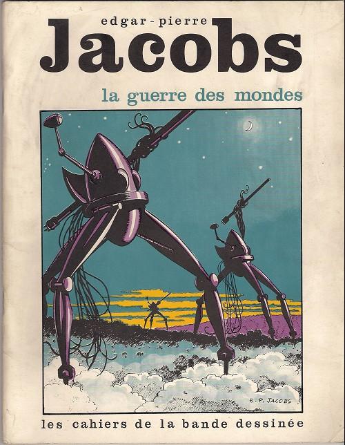 Couverture de (AUT) Jacobs, Edgar P. - La guerre des mondes