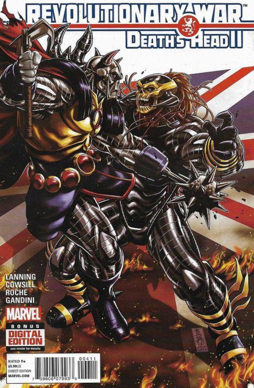Couverture de Revolutionary War (Marvel Comics - 2014) -04- Revolutionary War: Death's Head II