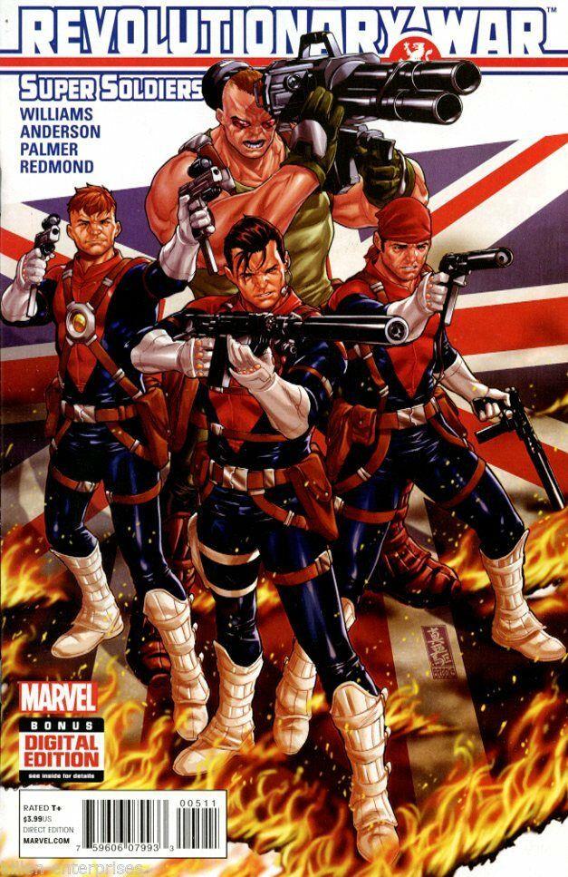 Couverture de Revolutionary War (Marvel Comics - 2014) -05- Revolutionary War: Supersoldiers