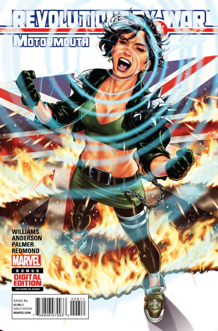 Couverture de Revolutionary War (Marvel Comics - 2014) -06- Revolutionary War: Motormouth