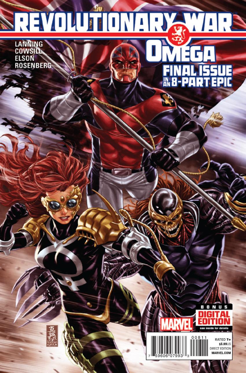 Couverture de Revolutionary War (Marvel Comics - 2014) -08- Revolutionary War: Omega
