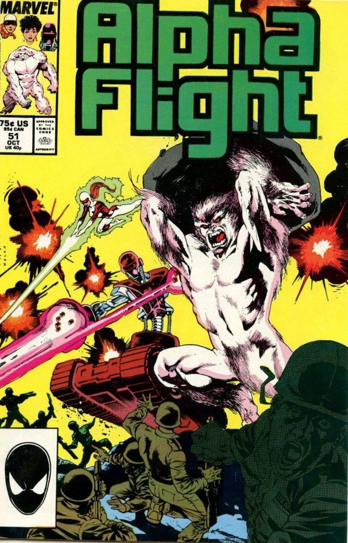 Couverture de Alpha Flight (Marvel comics - 1983) -51- Friends in High Places!