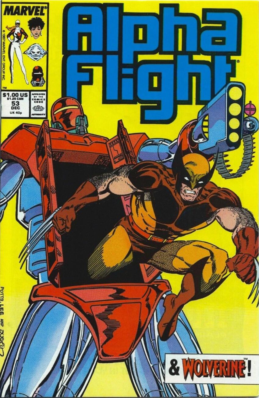 Couverture de Alpha Flight (Marvel comics - 1983) -53- A Blast From the Past!