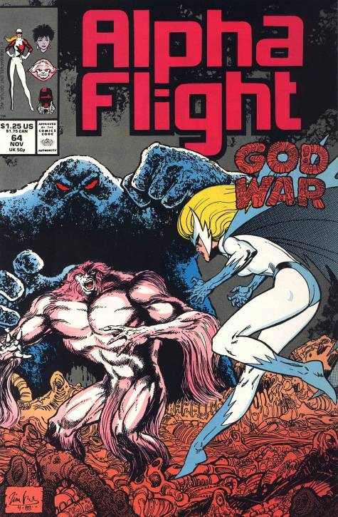 Couverture de Alpha Flight (Marvel comics - 1983) -64- Where There's a Will There's a Way