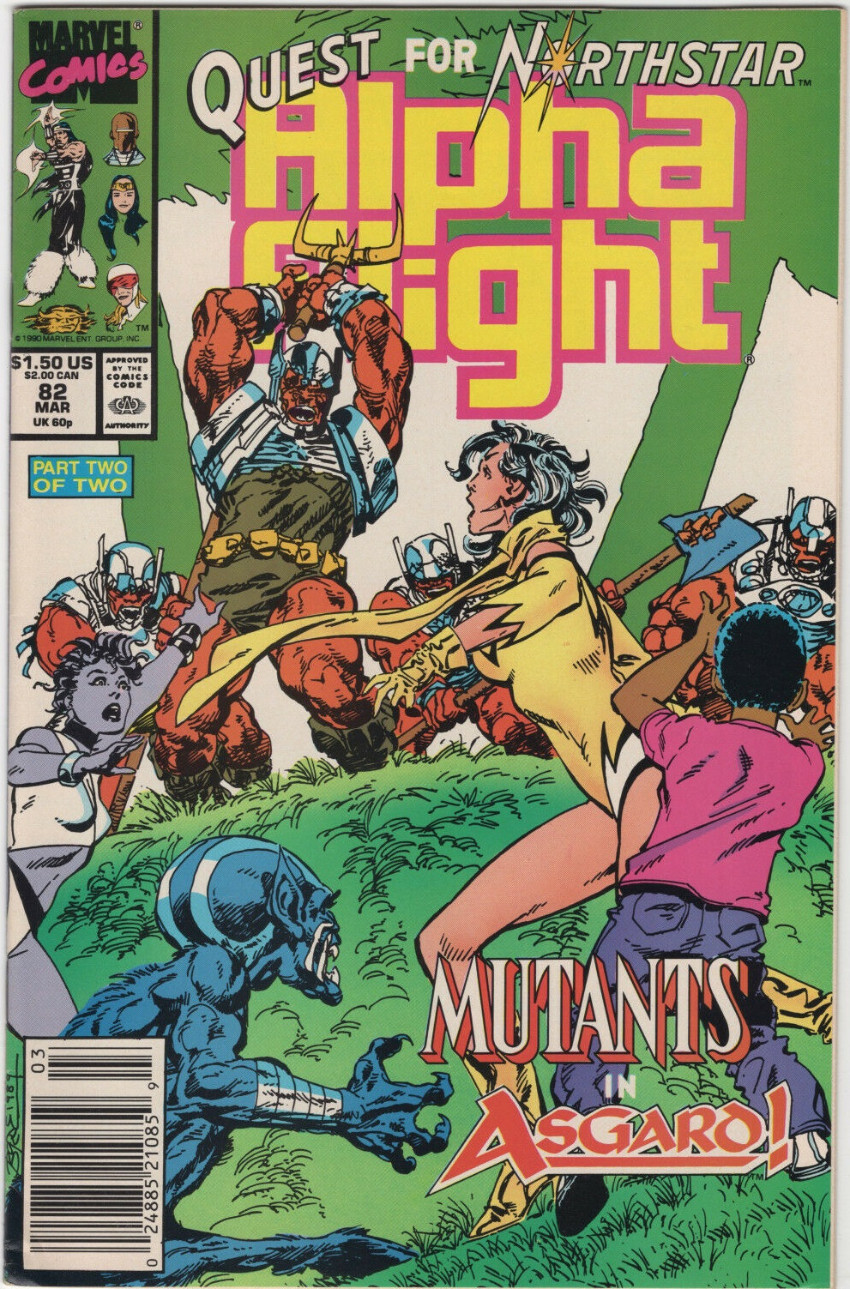 Couverture de Alpha Flight (Marvel comics - 1983) -82- The Quest for Northstar (Part 2): The Under Kingdom