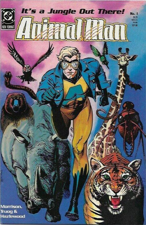 Couverture de Animal Man Vol.1 (DC comics - 1988) -1- The Human Zoo