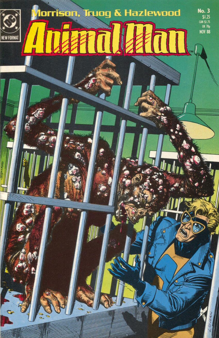 Couverture de Animal Man Vol.1 (DC comics - 1988) -3- The Nature of the Beast