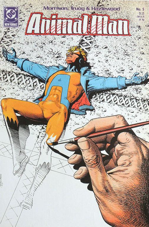 Couverture de Animal Man Vol.1 (DC comics - 1988) -5- The Coyote Gospel