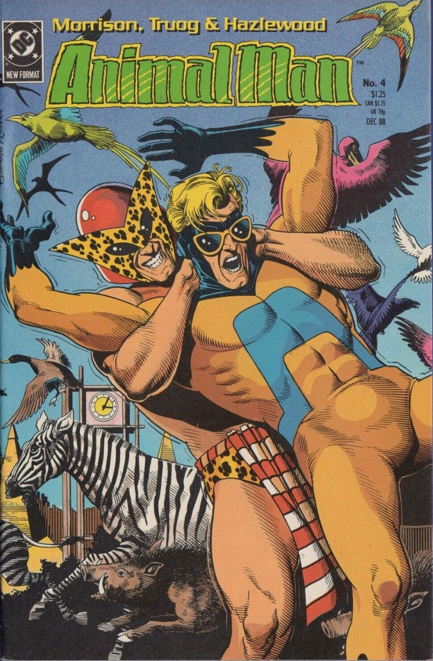 Couverture de Animal Man Vol.1 (DC comics - 1988) -4- When We All Lived in the Forest