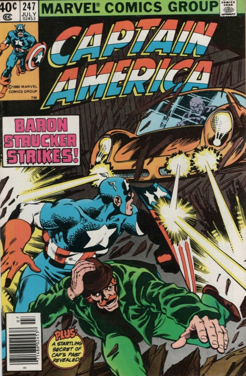 Couverture de Captain America (Marvel comics - 1968) -247- By the Dawn's Early Light!