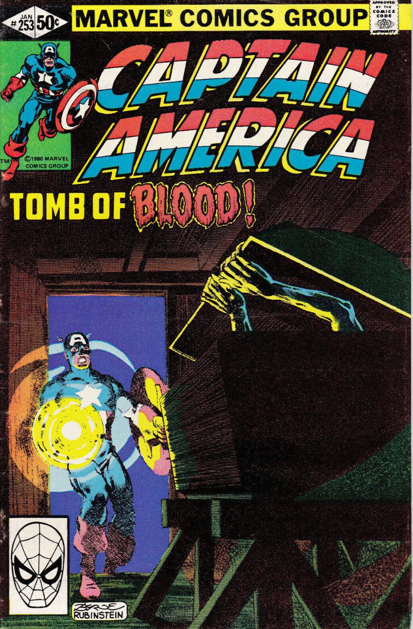 Couverture de Captain America (Marvel comics - 1968) -253- Should Old Acquaintance Be Forgot