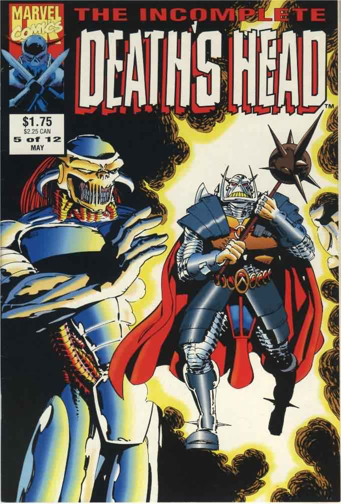 Couverture de Death's Head (The Incomplete) (Marvel UK - 1993) -5- Issue # 5