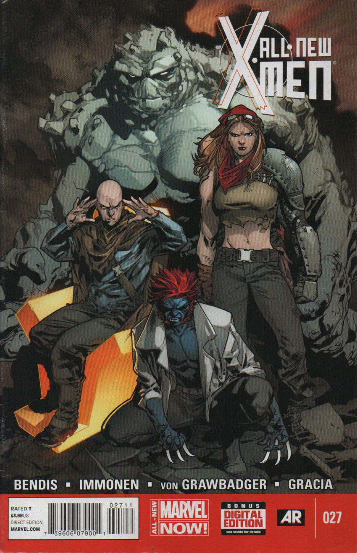 Couverture de All-New X-Men (Marvel comics - 2012) -27- Issue 27