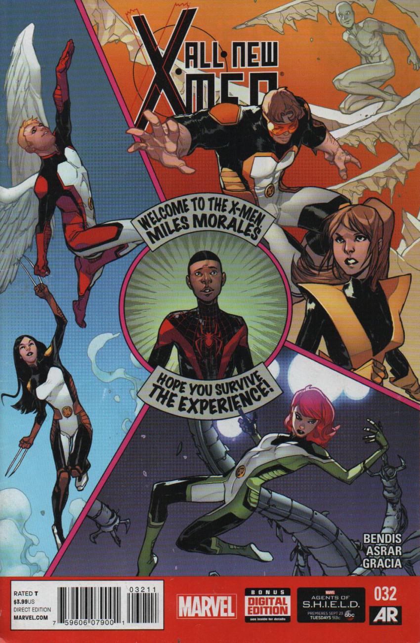 Couverture de All-New X-Men (Marvel comics - 2012) -32- Issue 32