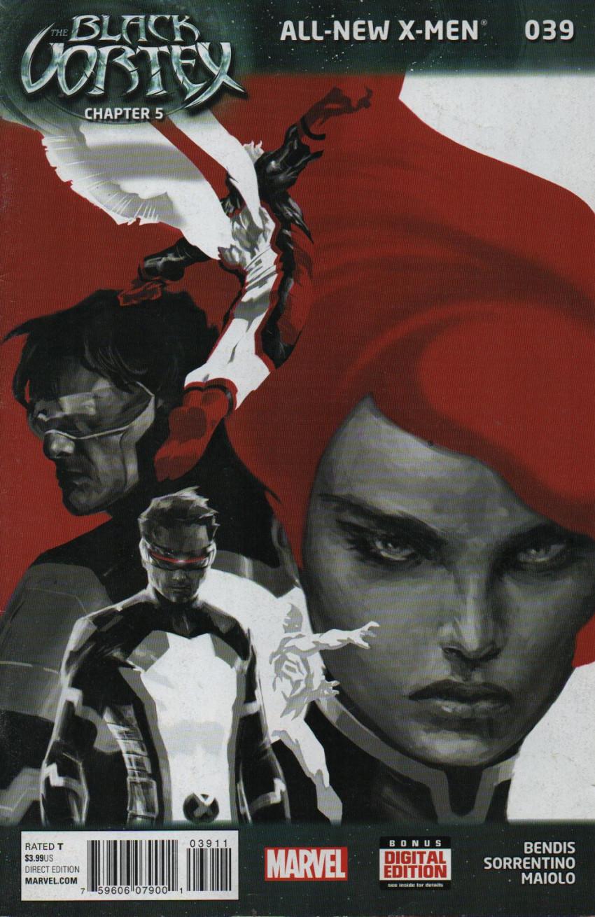 Couverture de All-New X-Men (Marvel comics - 2012) -39- The Black Vortex - Chapter 5