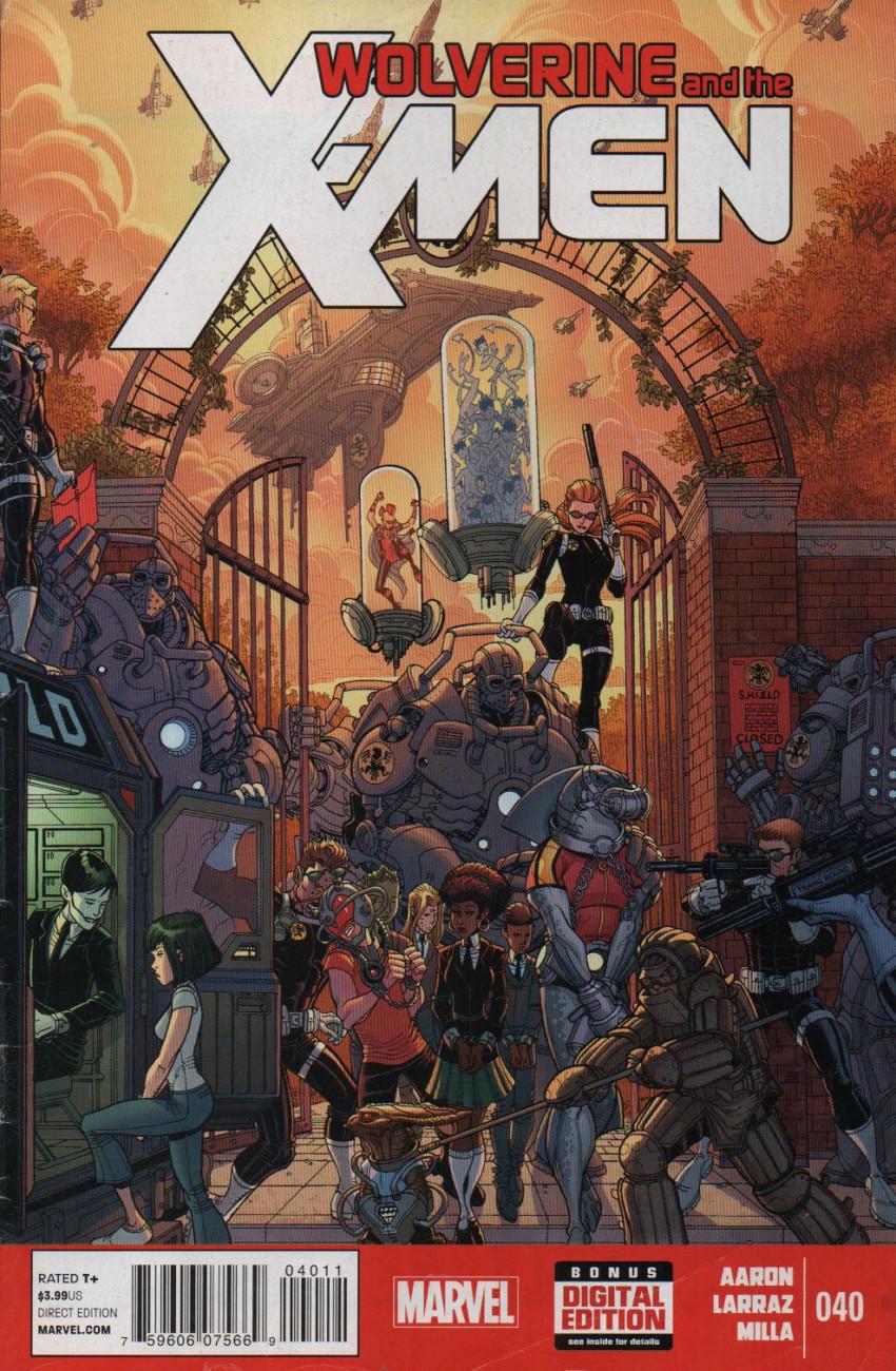 Couverture de Wolverine and the X-Men Vol.1 (Marvel comics - 2011) -40- Untitled