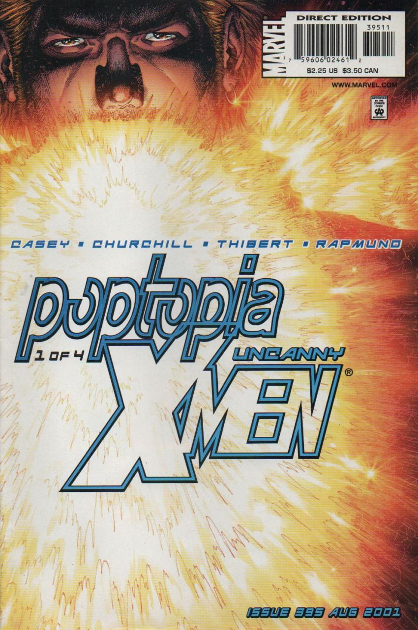 Couverture de Uncanny X-Men (The) (Marvel comics - 1963) -395- Poptopia part 1 : useless beauty