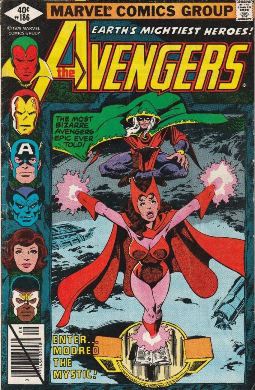 Couverture de Avengers Vol. 1 (Marvel Comics - 1963) -186- Nights of Wundagore!