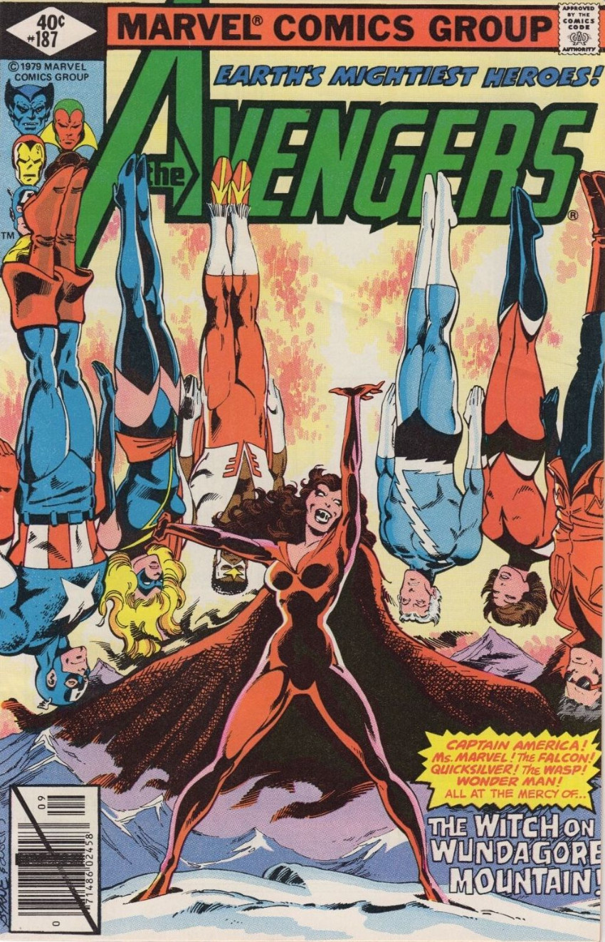 Couverture de Avengers (The) Vol. 1 (Marvel comics - 1963) -187- The Call of the Mountain Thing!