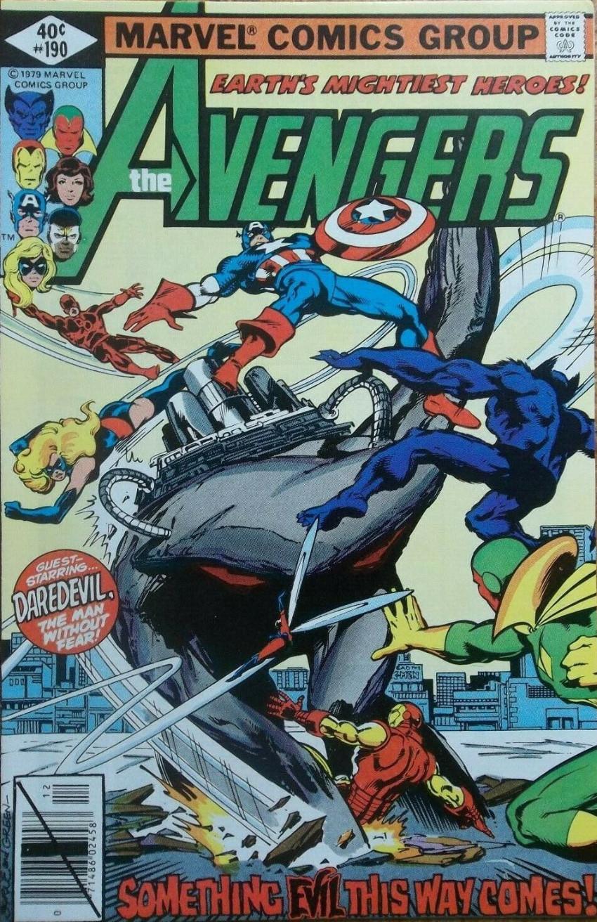 Couverture de Avengers (The) Vol. 1 (Marvel comics - 1963) -190- Heart of Stone