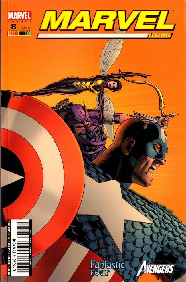 Couverture de Marvel Legends -8- Coup de force (3)