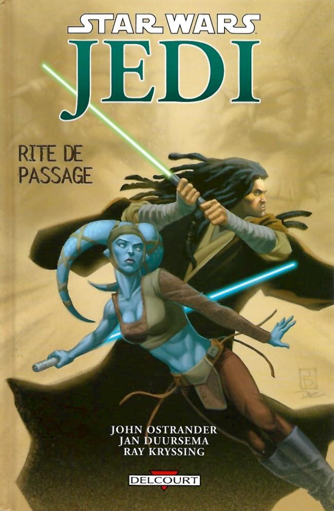 Couverture de Star Wars - Jedi -3- Rite de passage