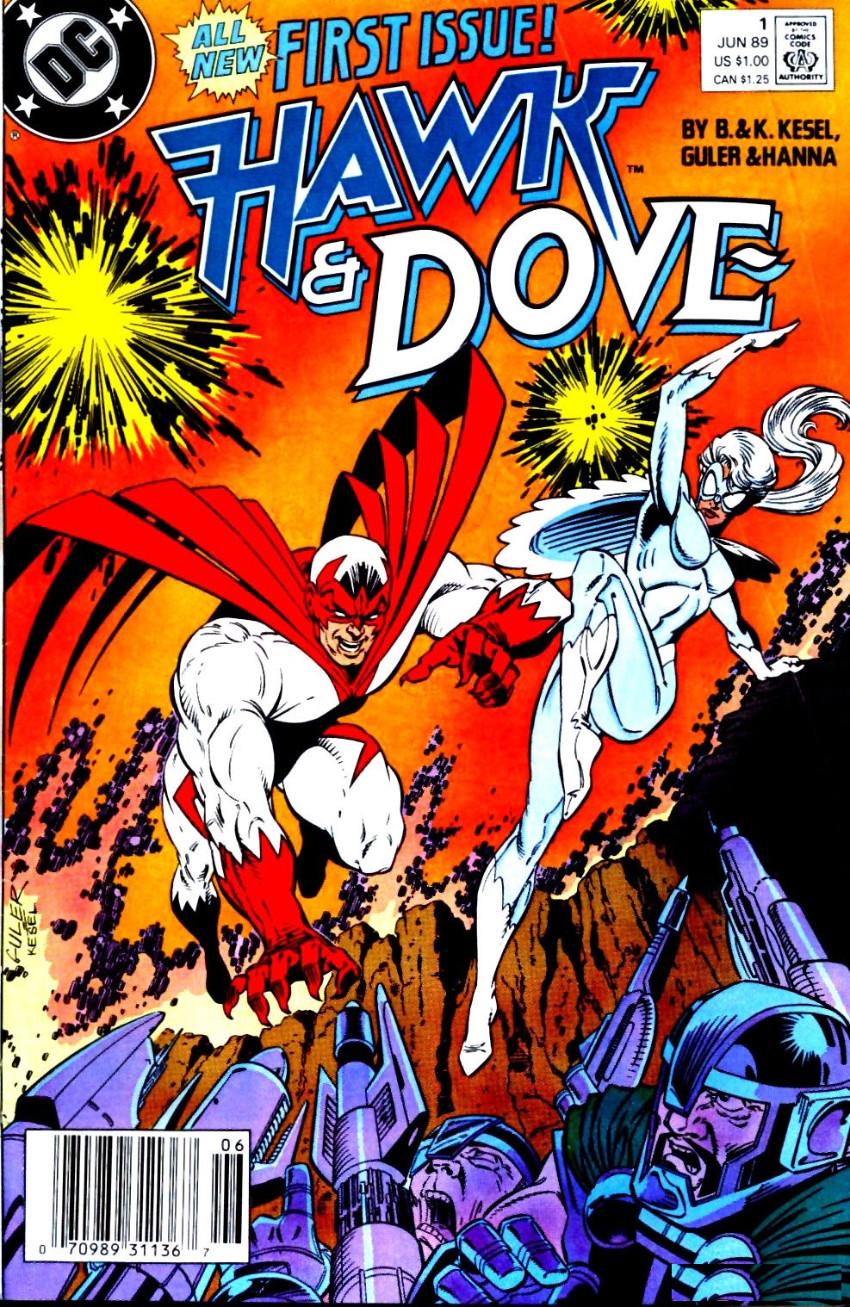 Couverture de Hawk & Dove (1989) -1- Gauntlet!