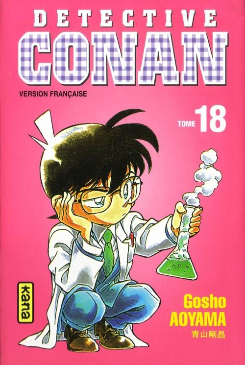 Couverture de Détective Conan -18- Tome 18