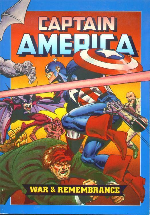 Couverture de Captain America (Marvel comics - 1968) -Int- War & remembrance