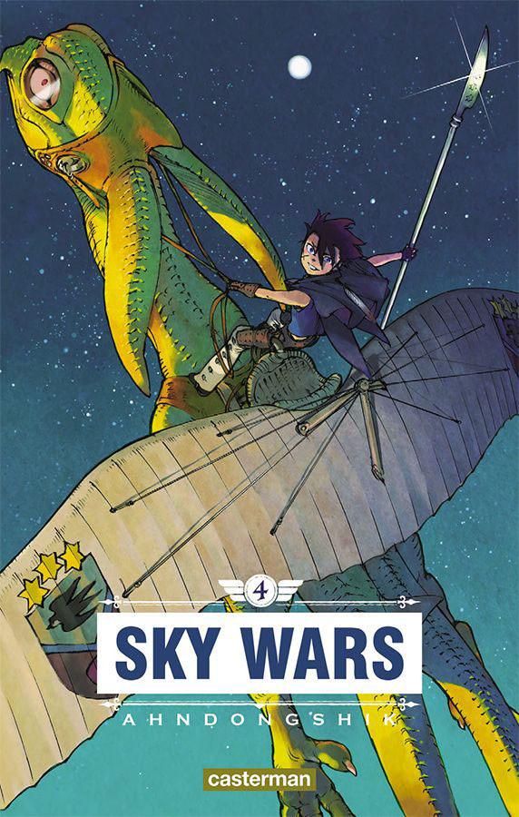Couverture de Sky Wars -4- Tome 4