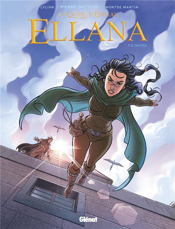 Couverture de Ellana -5- Chutes