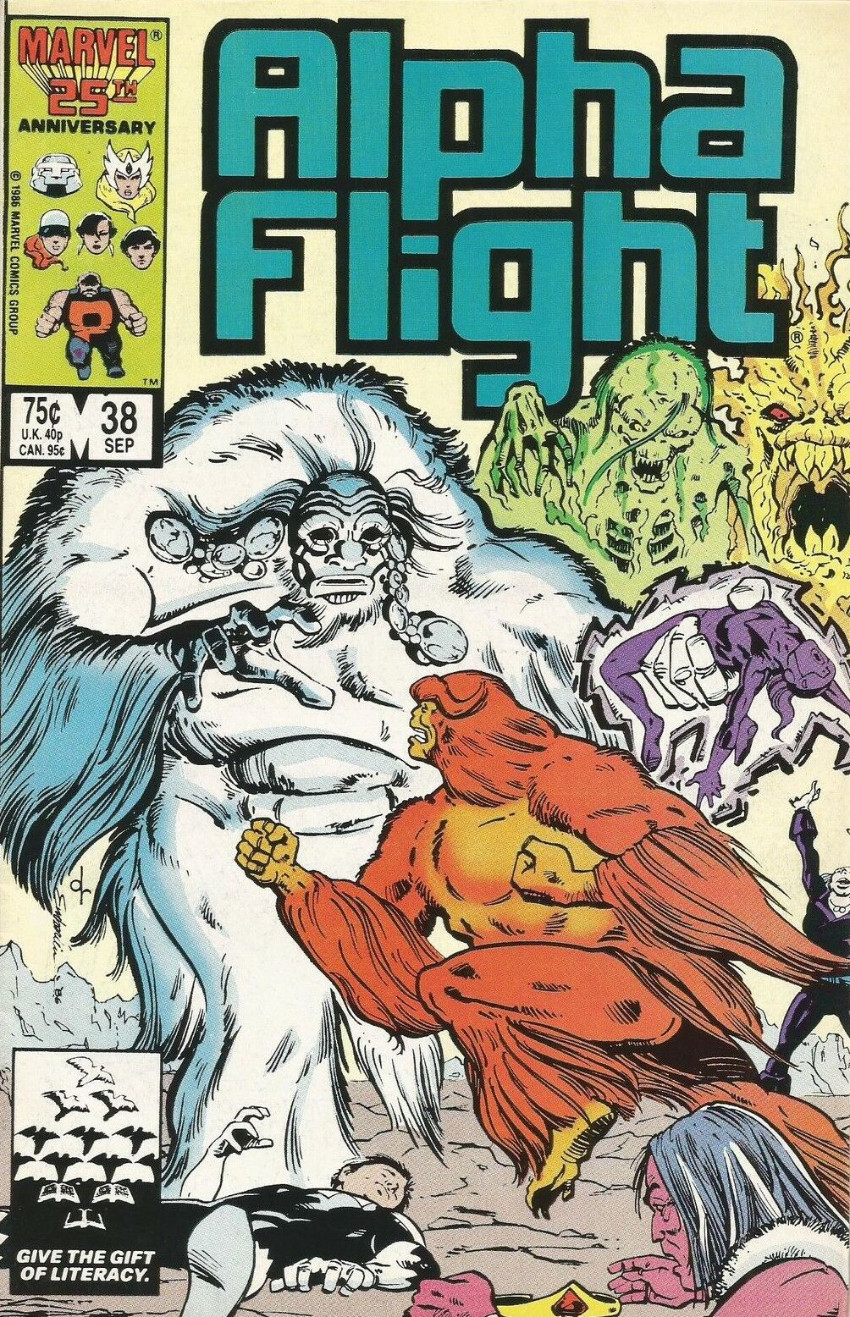 Couverture de Alpha Flight (Marvel comics - 1983) -38- Pestilence!