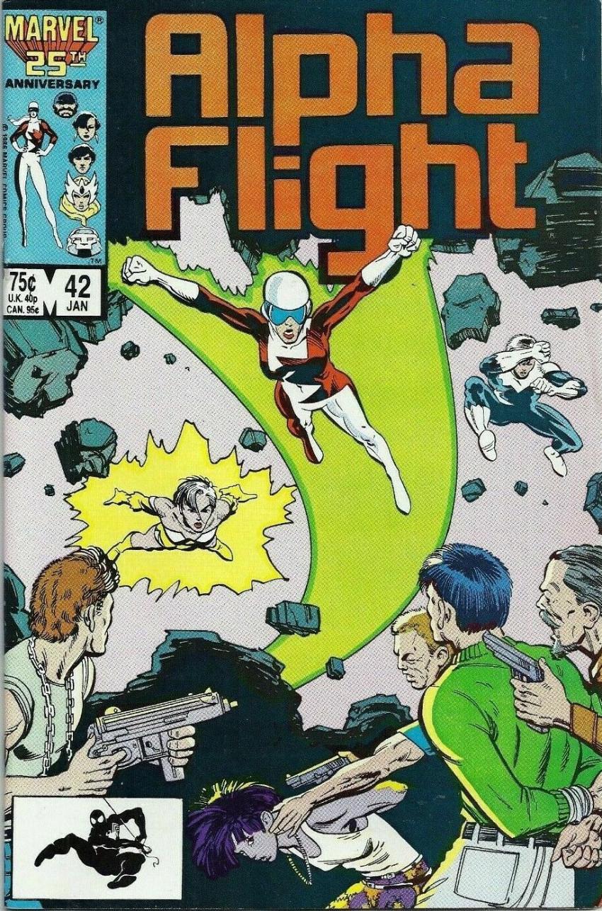 Couverture de Alpha Flight (Marvel comics - 1983) -42- Auction