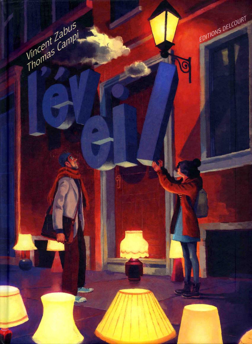 Couverture de L'Éveil (Zabus/Campi) - L'Éveil