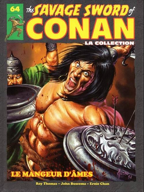 Couverture de Savage Sword of Conan (The) - La Collection (Hachette) -64- Le mangeur d'Âmes