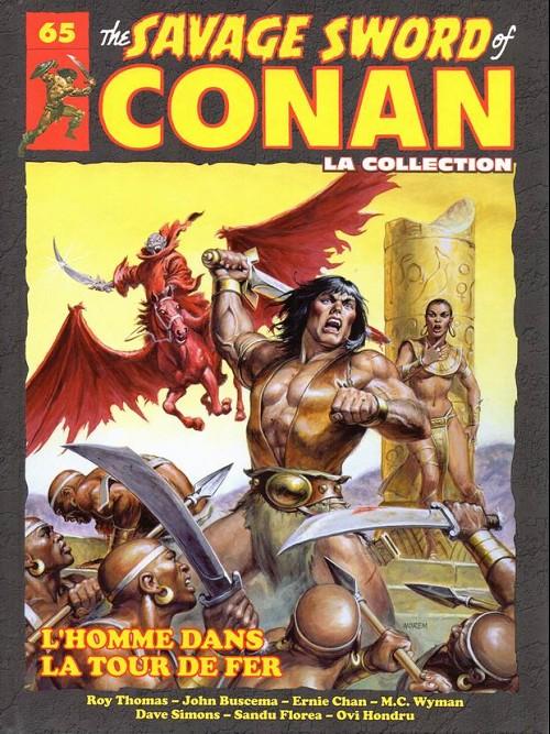 Couverture de Savage Sword of Conan (The) - La Collection (Hachette) -65- L'homme dans la tour de fer