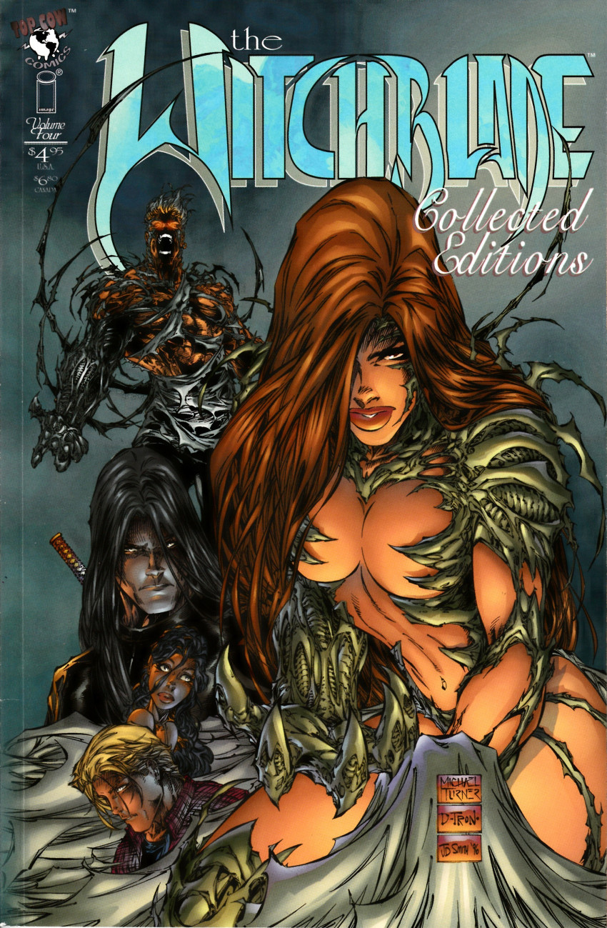 Couverture de Witchblade - Collected Editions (The) (1996) -4- Volume four